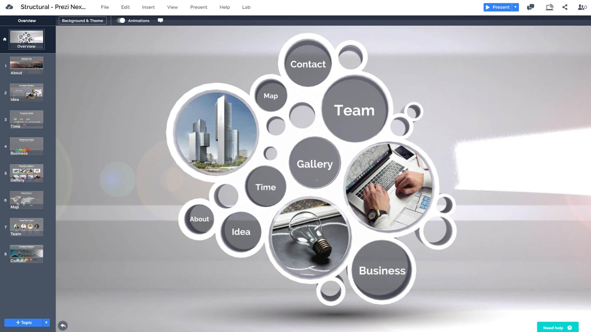 3D-circles-structure-presentation-template-design-for-prezi-next