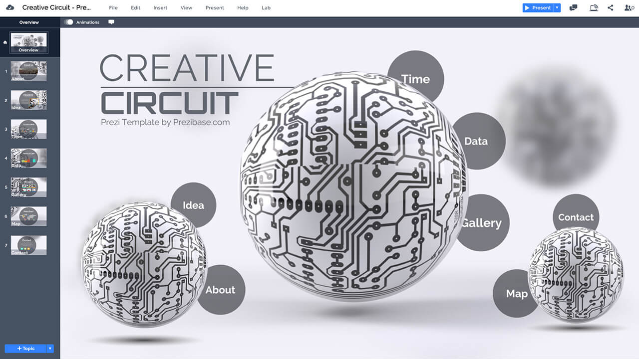 creative-3d-circuit-sphere-technology-circle-motherboard-chip-prezi-template-for-presentations