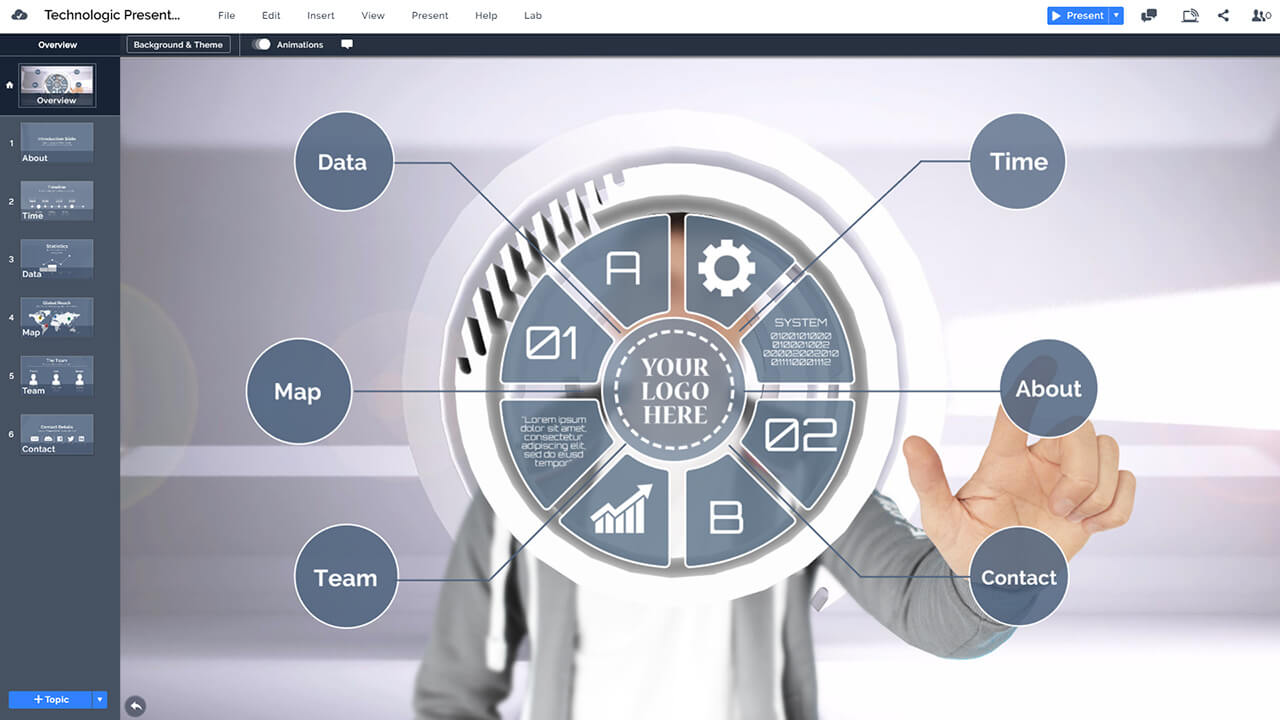 technology-interface-businessman-circle-display-touchscreen-presentation-template-for-prezi-and-powerpoint