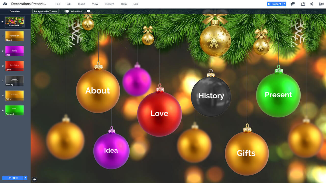 christmas-decoration-ornaments-prezi-presentation-template