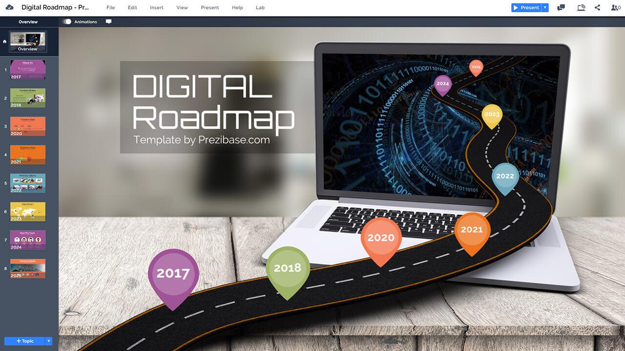 digital-roadmap-business-technology-laptop-presentation-prezi-template