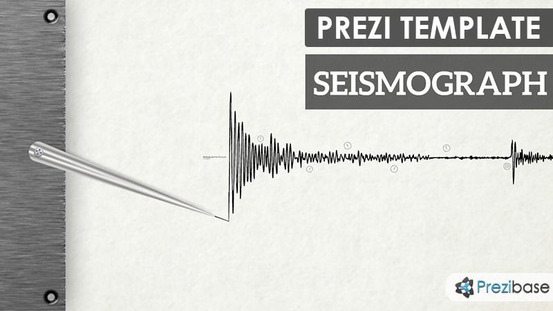 Seismograph prezi presentation template creatoz collection seismograph prezi presentation template toneelgroepblik Choice Image