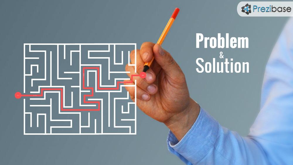 Problem And Solution Prezi Presentation Template