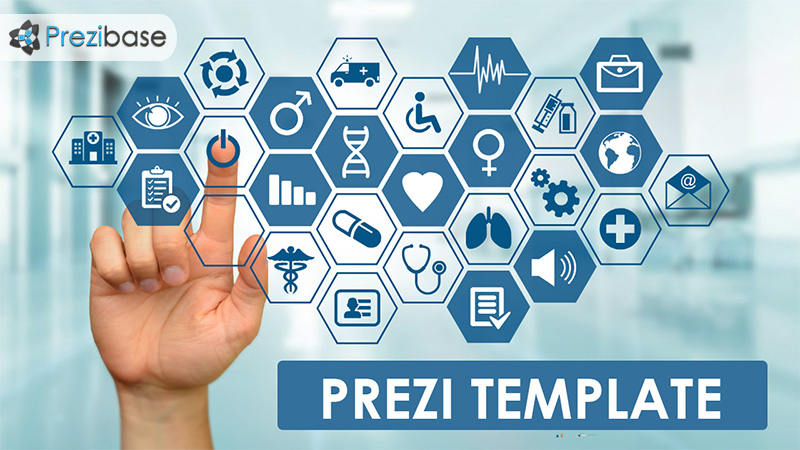 touchscreen medical prezi presentation template creatoz