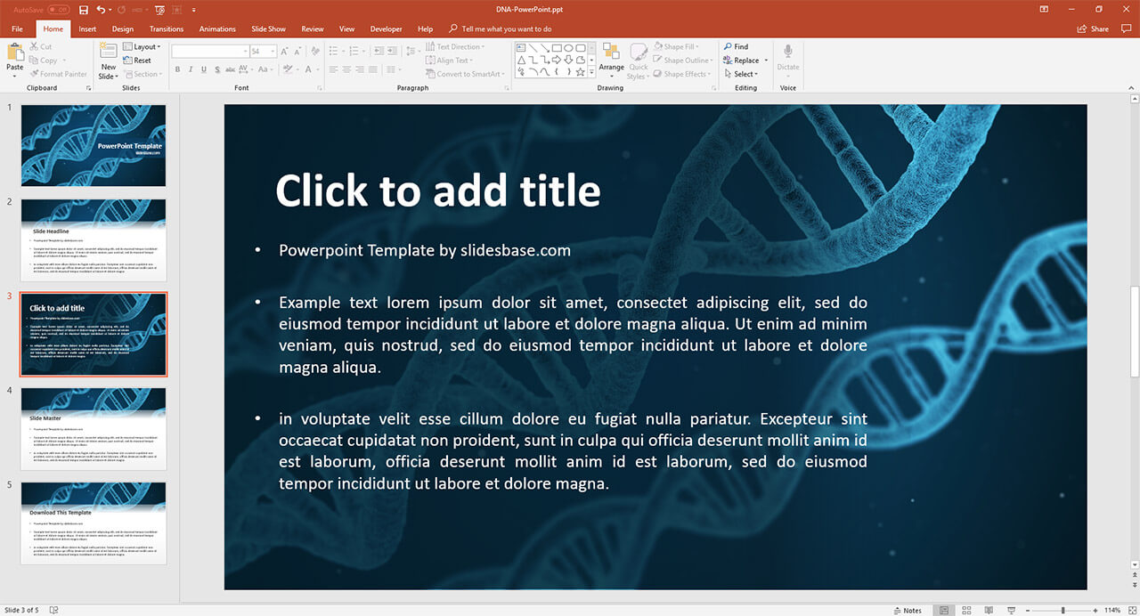 DNA-blue-genetics-success-biology-science-powerpoint-ppt-template-download