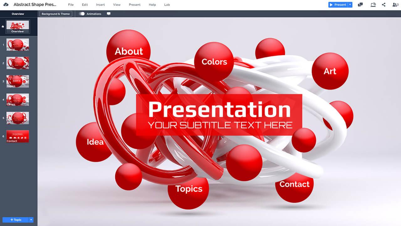 abstract-3D-lines-shape-torus-art-prezi-presentation-template