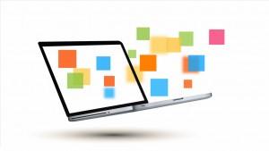 Бизнес-ноутбук Prezi шаблон