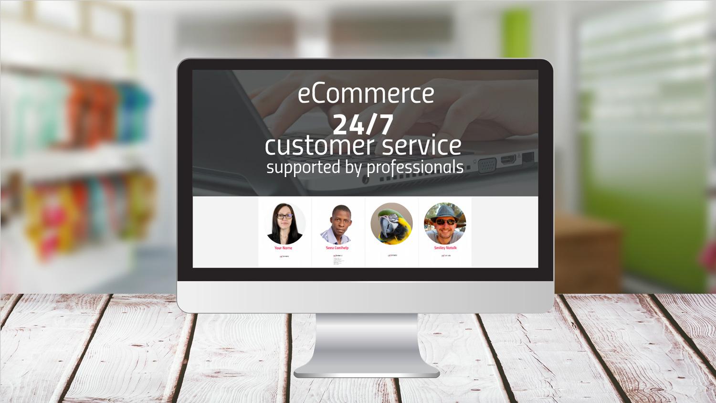 eCommerce Customer Service Prezi template