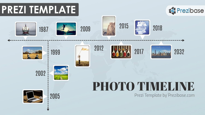 Photo timeline prezi presentation template creatoz collection toneelgroepblik Choice Image