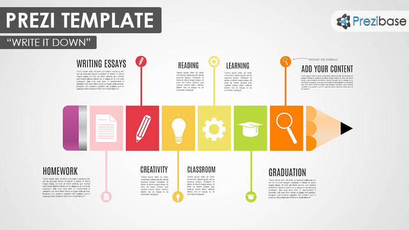 write it down  u2013 prezi presentation template