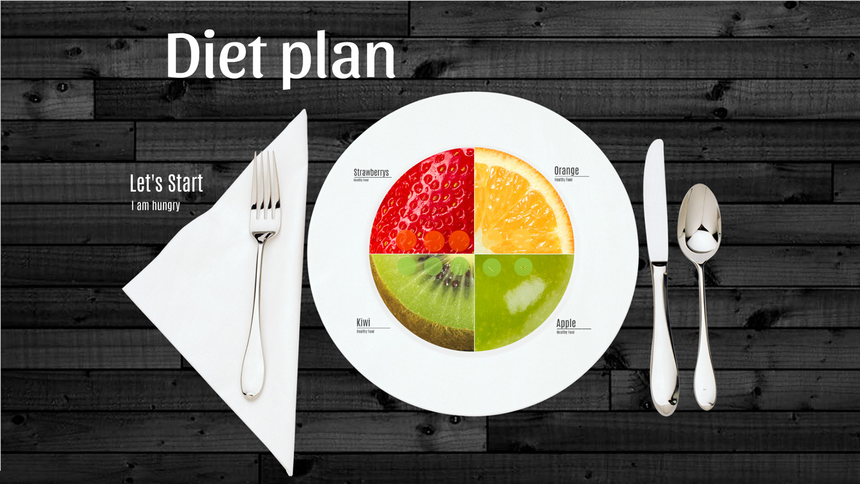 diet plan  u2013 prezi presentation template