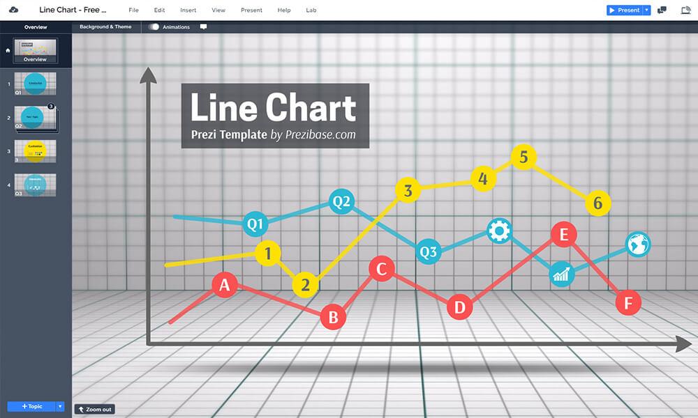Line-chart-free-prezi-next-template-for-data-visualization
