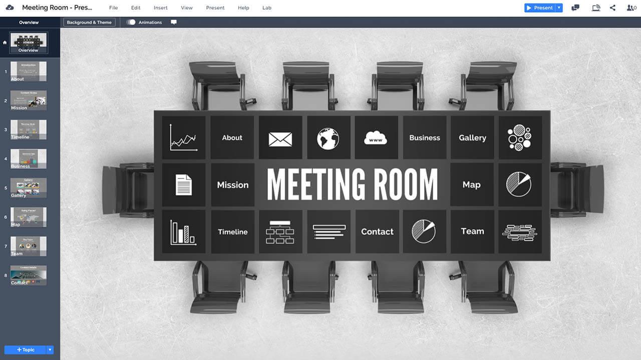 company-business-board-room-table-top-view-prezi-presentation-template