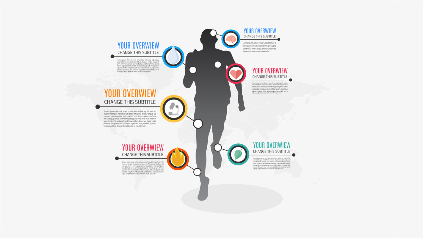 Men Sport Infographic Prezi Presentation Creatoz Collection