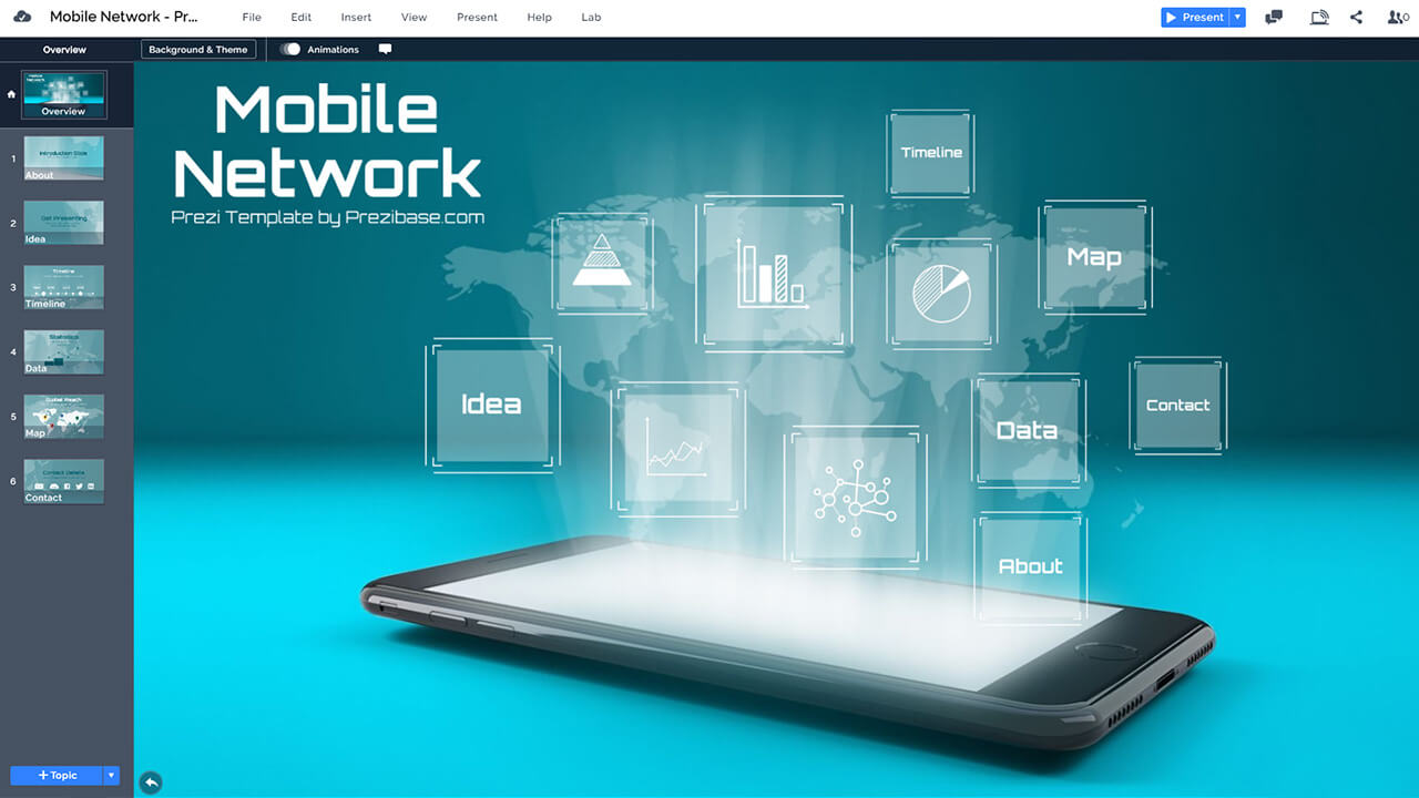 3d-iphone-hologram-smartphone-mobile-world-network-technology-5g-prezi-presentation-template