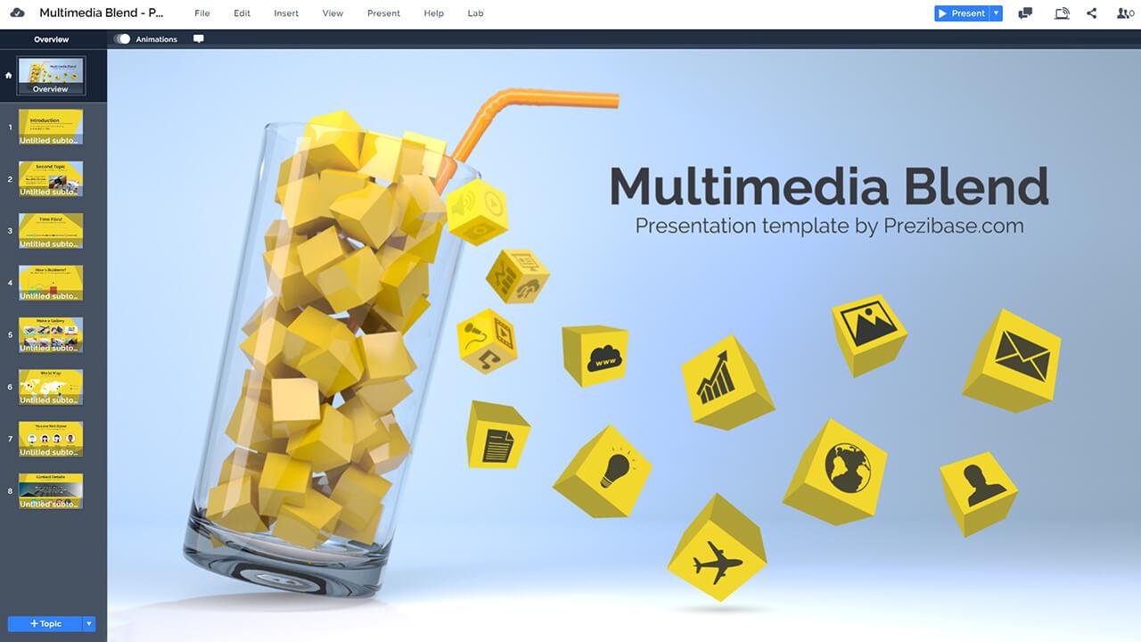 multimedia-3D-blend-creative-technology-business-prezi-presentation-template