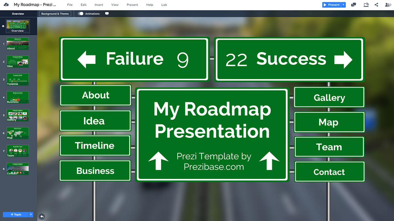 creative-roadmap-road-signs-prezi-presentation-template-highway