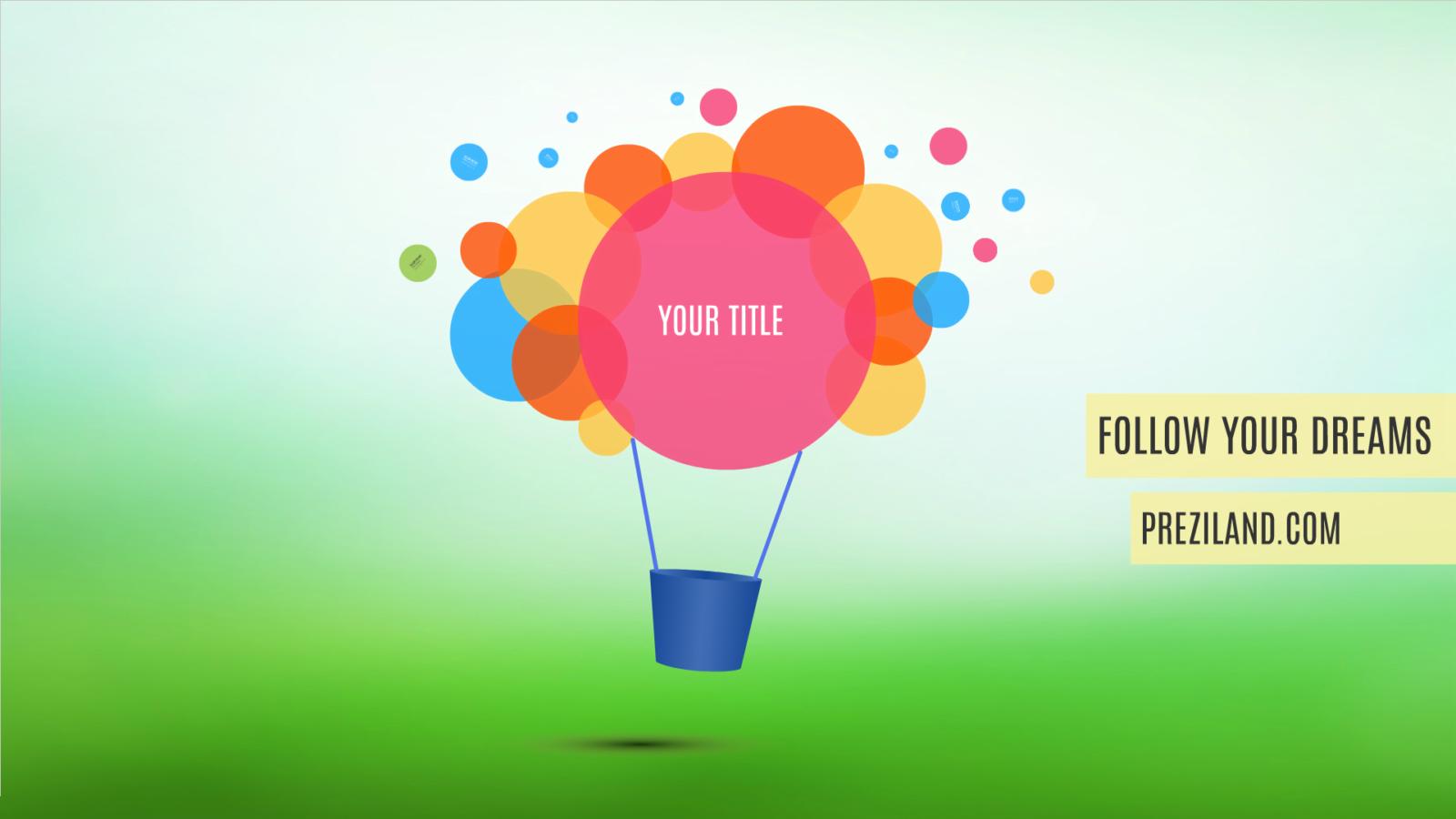 follow dreams presentation template video