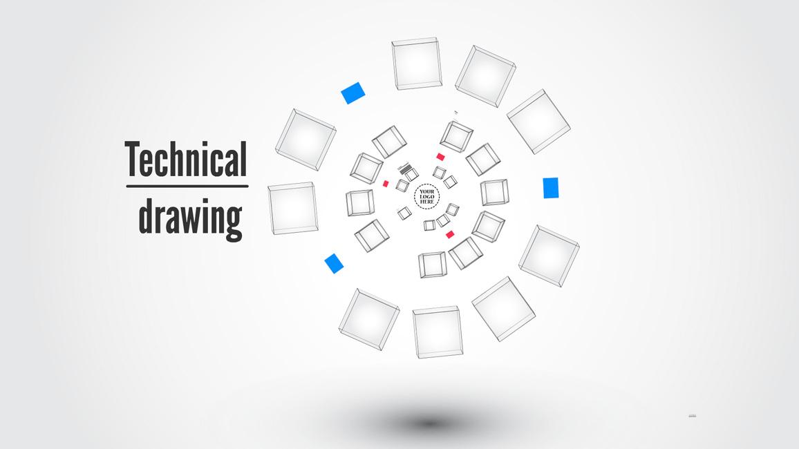 technical drawing prezi template