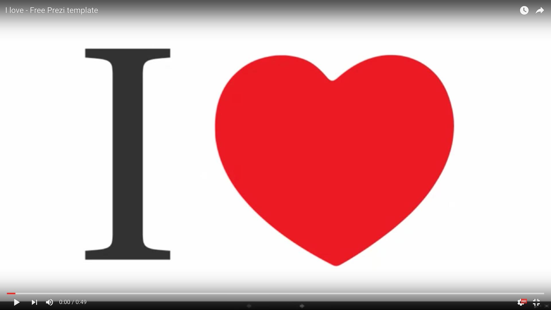 love free template